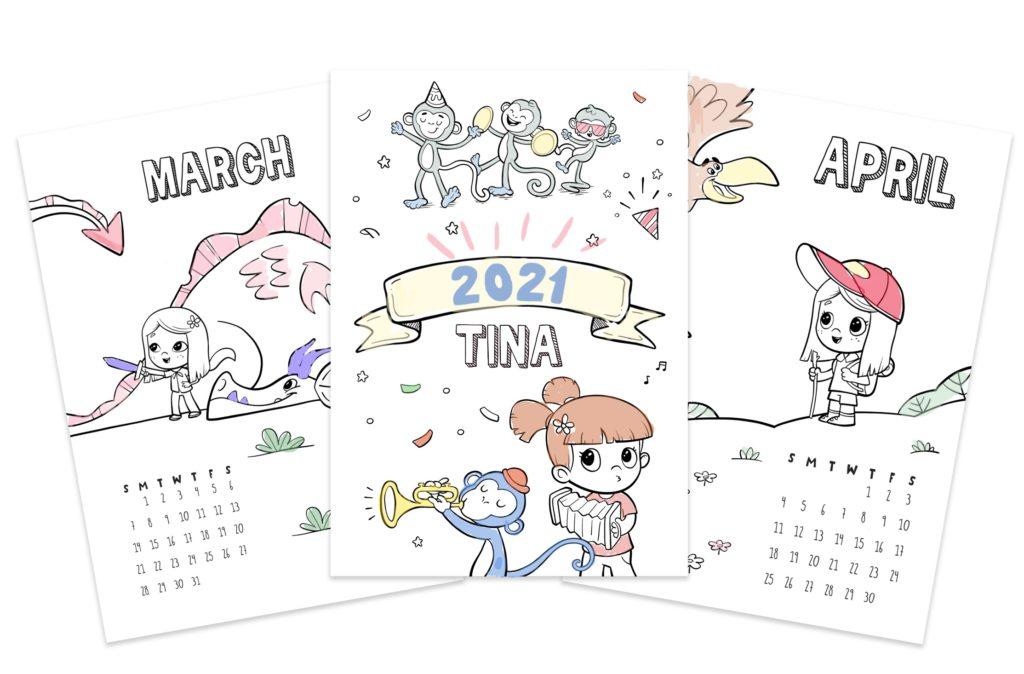 Natale 2021 Calendario.Nostro Calendario Da Colorare Gratuito E Personalizzato